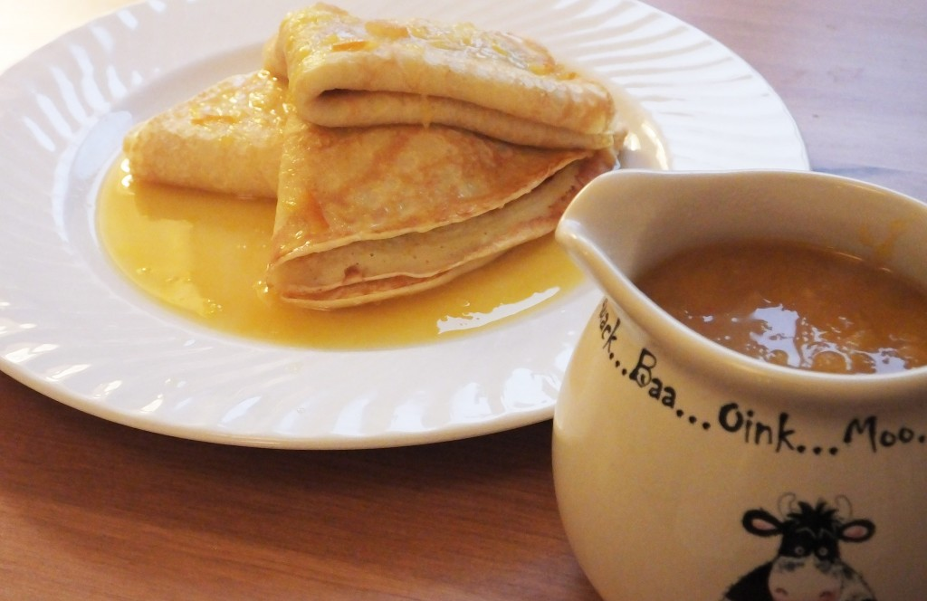 Crepe suzette recipe - pikalily food blog