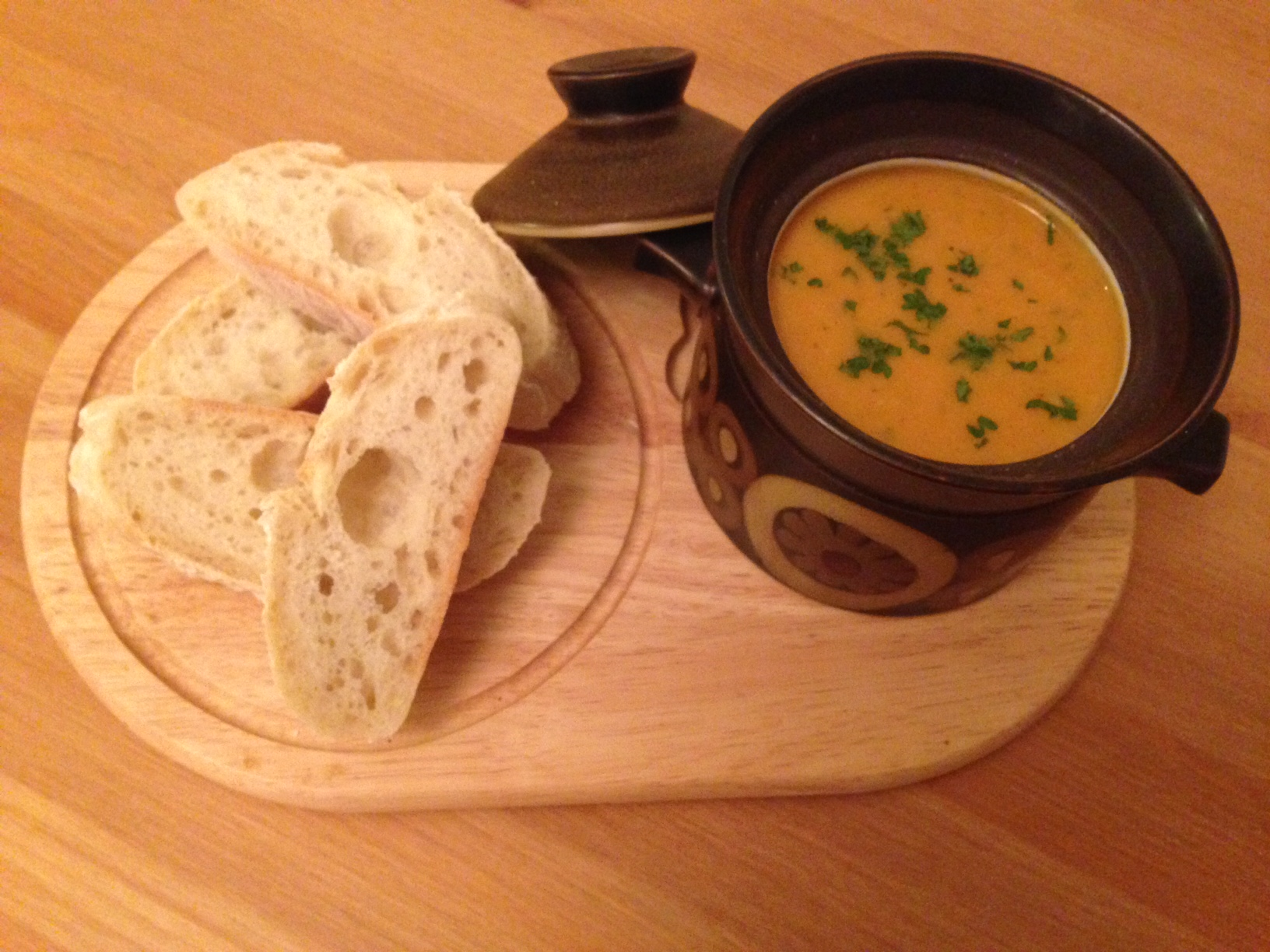 Sweet potato and chorizo soup - Pikalily food blog