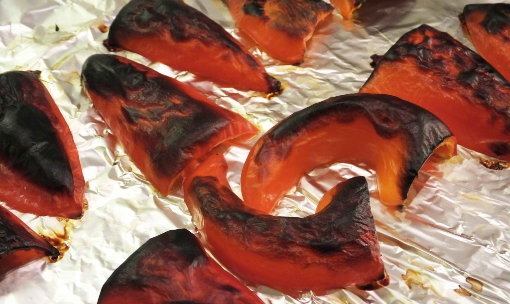 Blackened red peppers - Pikalily food blog