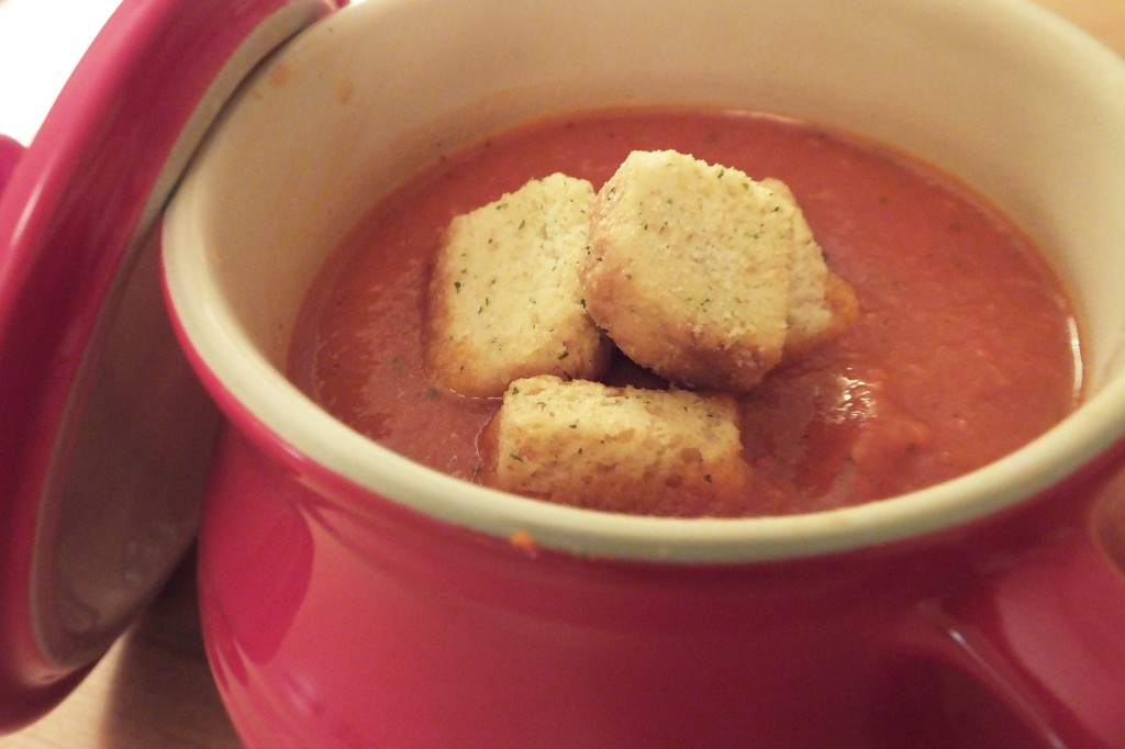 Red Pepper Tomato Soup - Pikalily food blog
