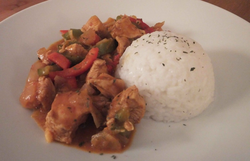 Homemade chicken curry recipe - Pikalily Food Blog