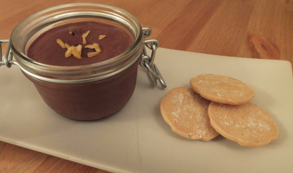 Chocolate orange mousse and shortbread - Pikalily food blog