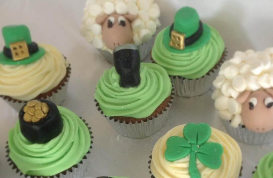 St Patricks Day Cupcakes - Pikalily Food Blog