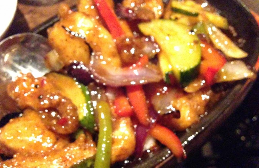 salt chilli chicken sizzler - Maghera Inn - Pikalily food blog