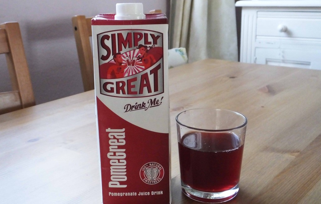 Simply great pomegranate juice review - Pikalily food blog