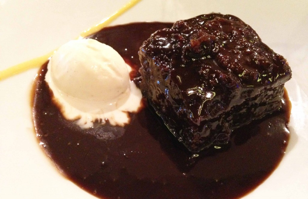 Sticky toffee pudding vanilla - Pikalily food blog