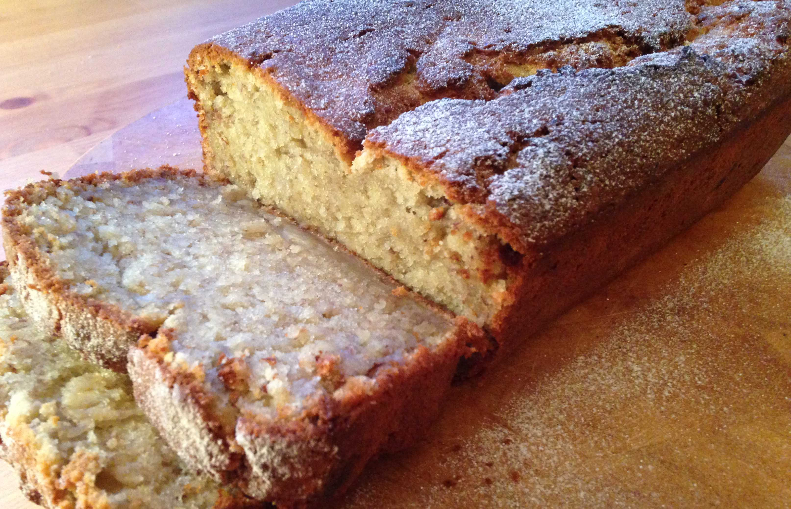 Banana bread recipe with flaxseed - Pikalily Food Blog