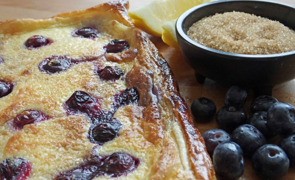 Blueberry and lemon curd tart - Pikalily Food Blog