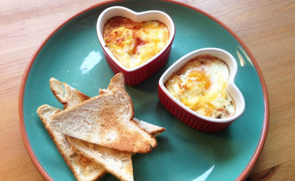 Spicy baked eggs recipe - Pikalily Food