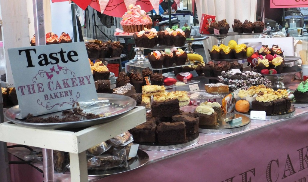 Cupcakes - St Georges Market - Pikalily Blog