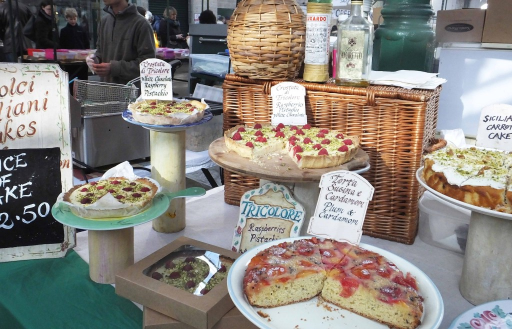 Italian Cakes - St Georges Market - Pikalily Blog