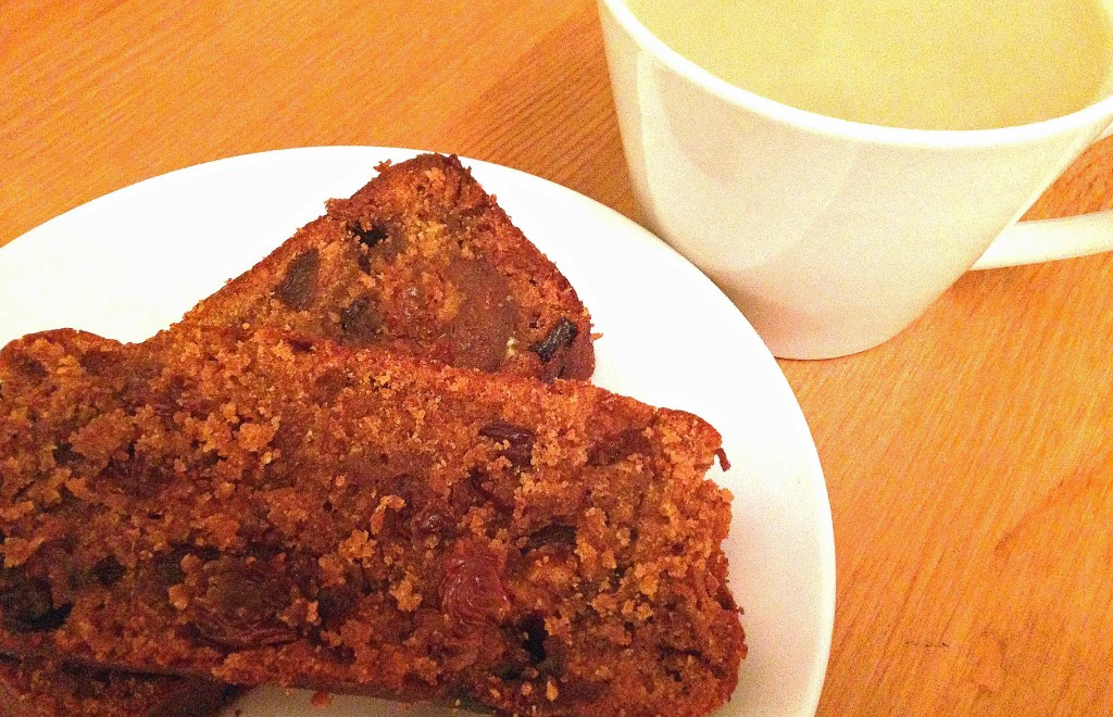 Tea Loaf with Cup Tea - Pikalily Food Blog