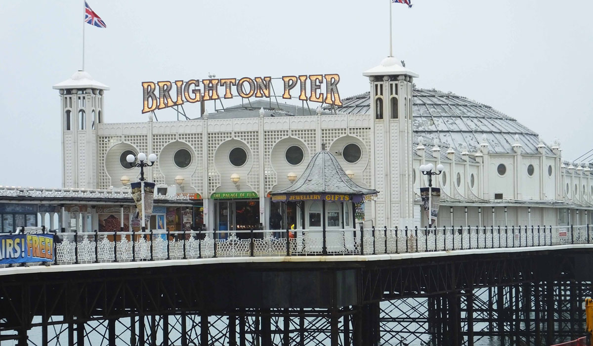 Brighton Pier - Pikalily Food Travel Blog