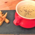 Curried Roasted Parsnip Soup - Pikalily Food Blog