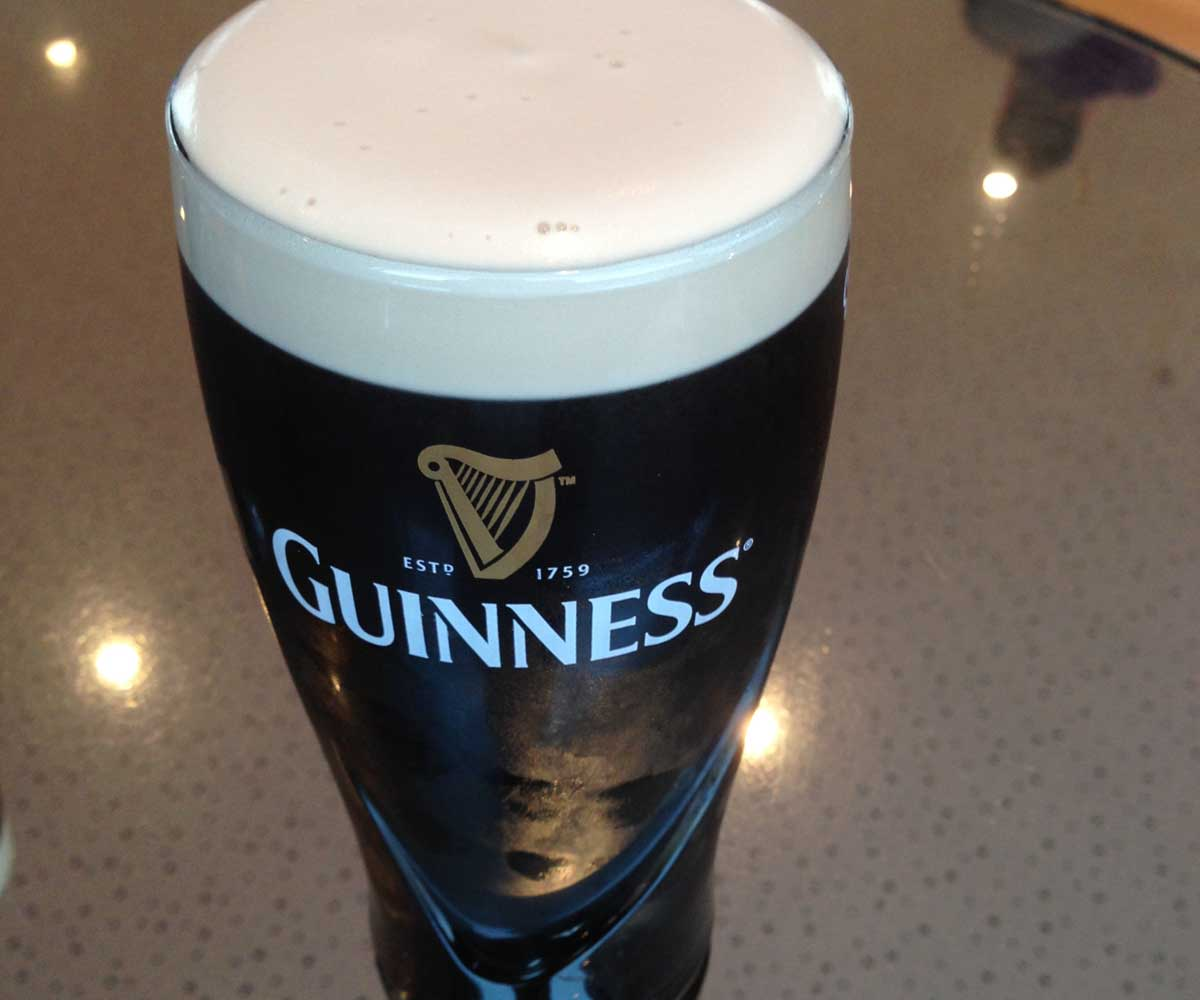 Gravity Bar Guinness - Pikalily Food Travel Blog