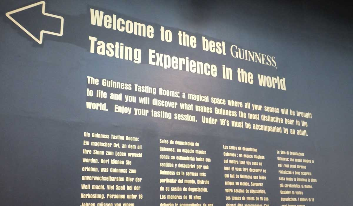 Guinness Taste Room - Pikalily Food Travel Blog