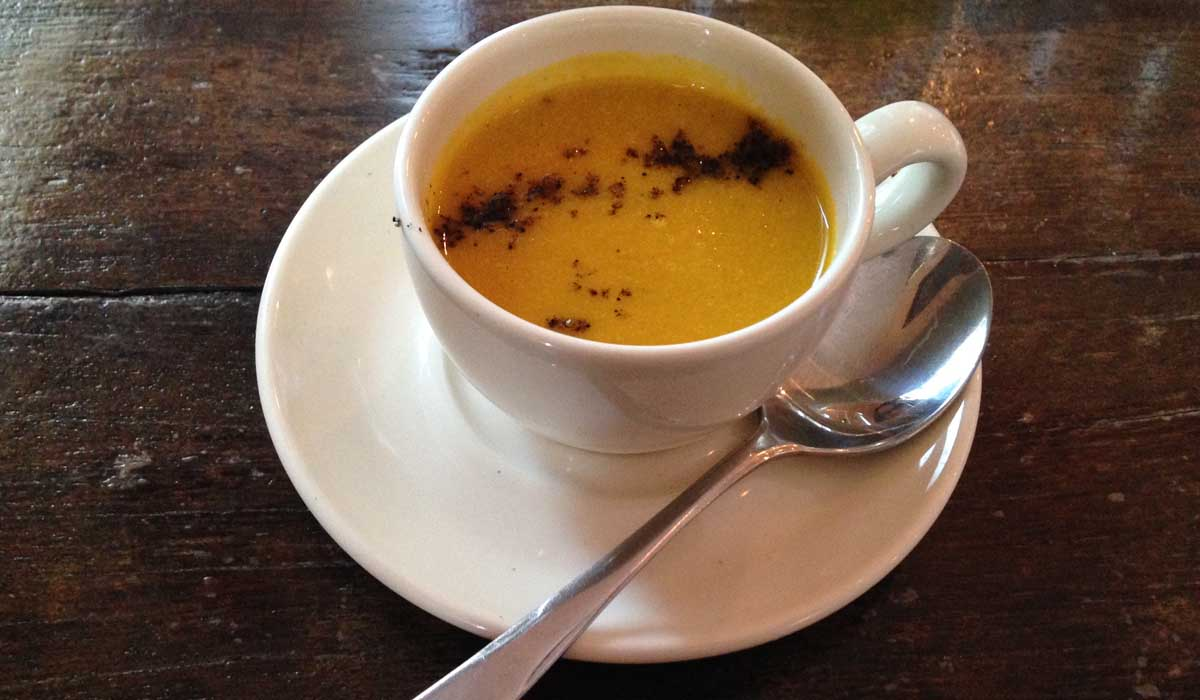 Brunel's Carrot and Coriander Soup - Pikalily Food Blog