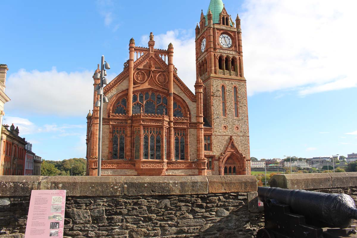 Guildhall Derry1 - Pikalily Travel Blog