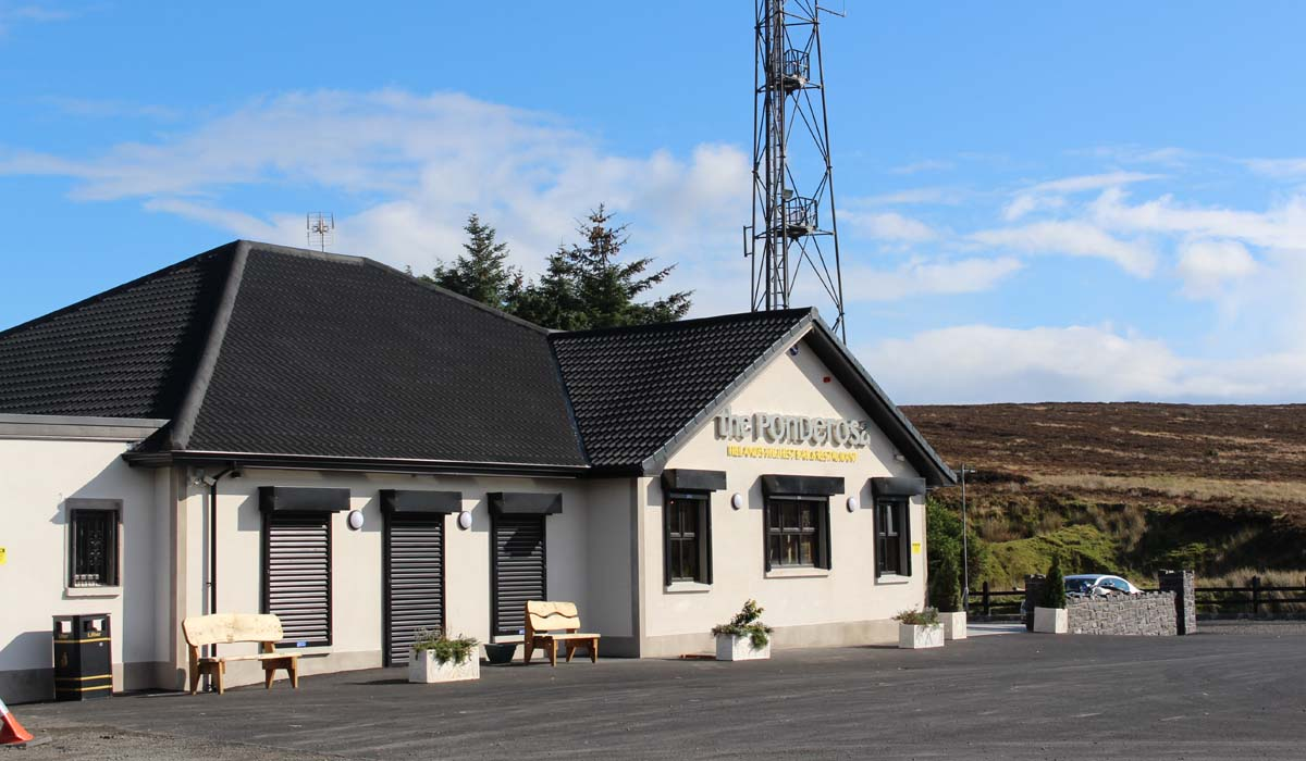 Ponderosa - Irelands Highest Pub - Pikalily Travel Blog