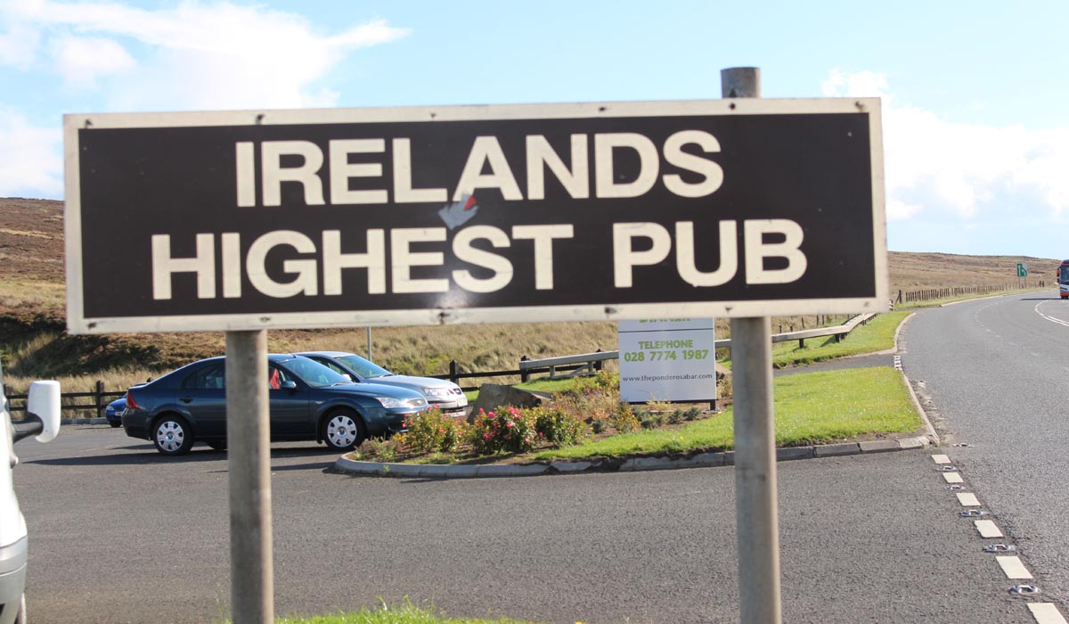 Ponderosa Bar - Irelands Highest Pub - Pikalily Travel Blog