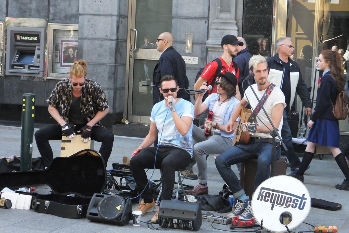 Busking Grafton Street - Pikalily Food Travel Blog