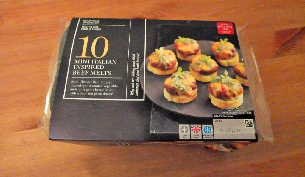 M&S Mini Beef Burger Melts - Pikalily Food Blog