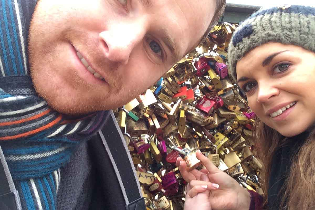 Padlock Bridge Paris - Pikalily Food Travel