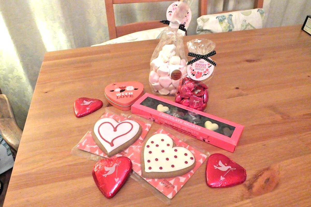M&S Valentines treats - Pikalily food blog