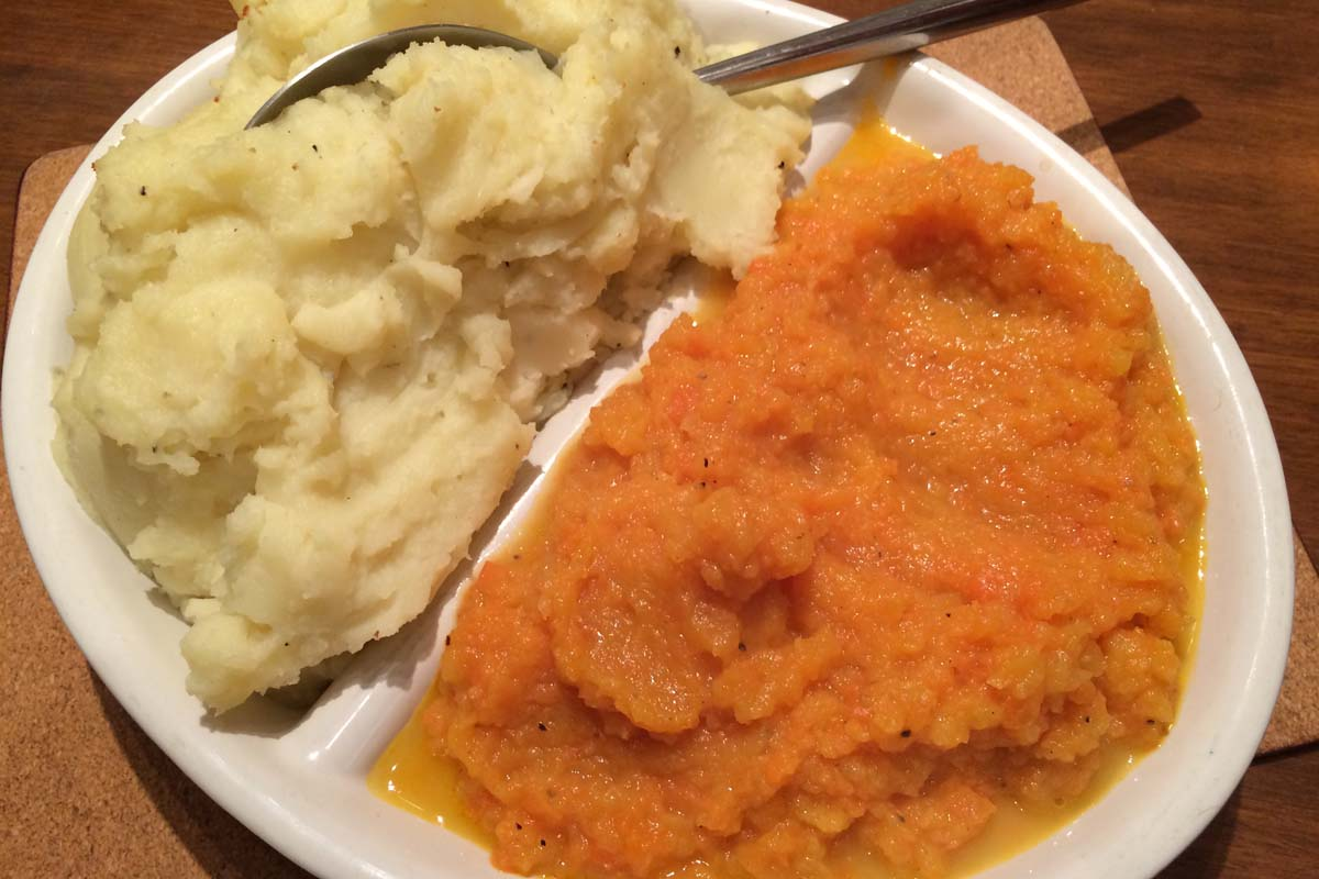 Mash potatoes and carrot and turnip - Pikalily Food Blog