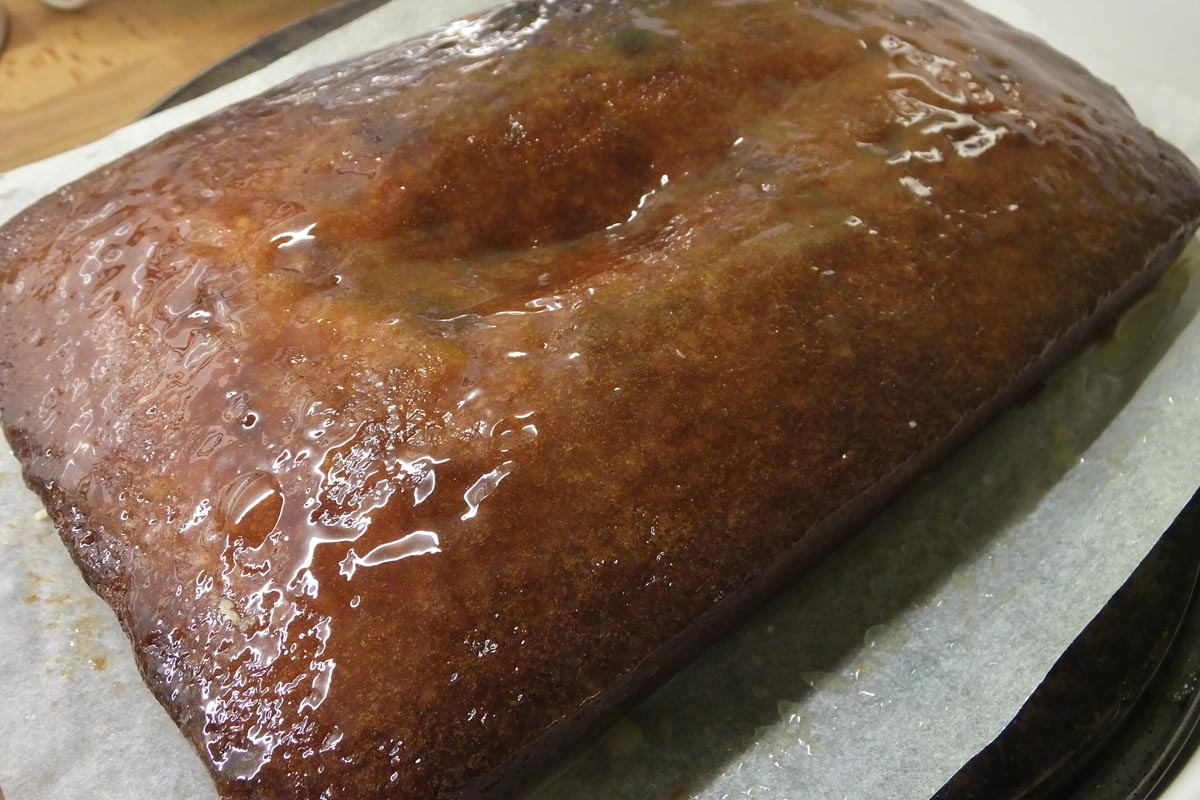 Lemon drizzle cake - Pikalily food blog