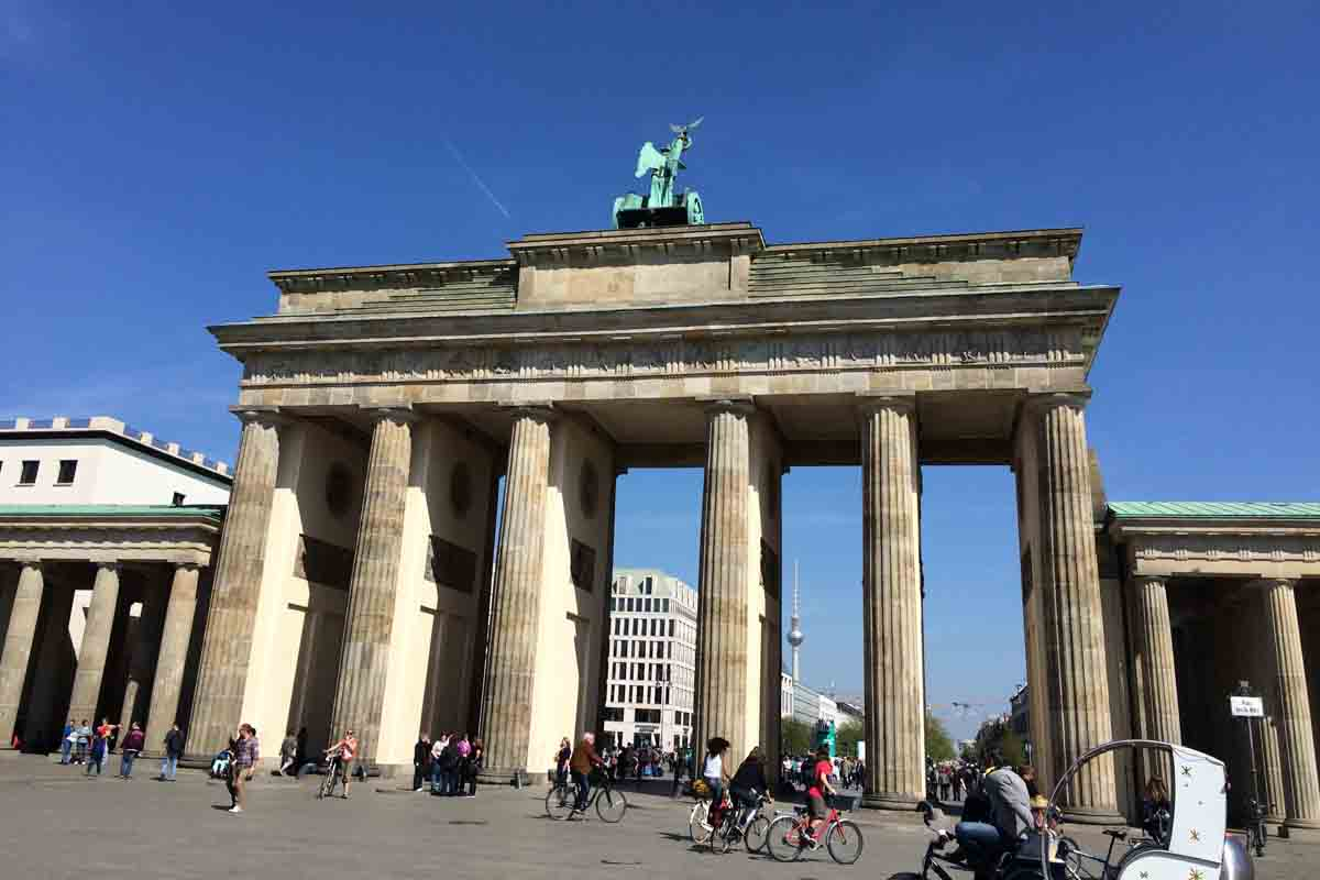 Brandenburg Gate Berlin - Pikalily Travel Blog
