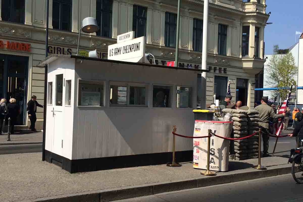 Checkpoint Charlie Berlin - Pikalily Travel Blog
