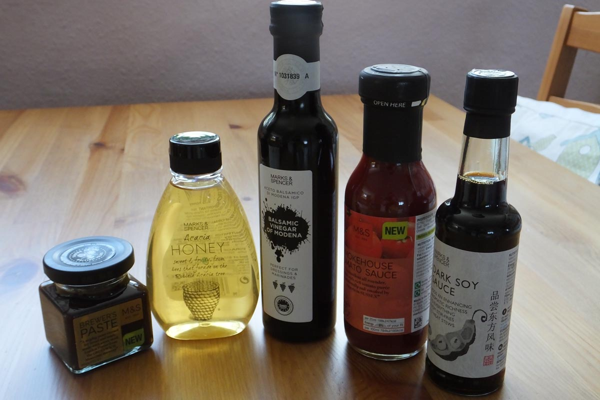 BBQ sauce ingredients - Pikalily food blog