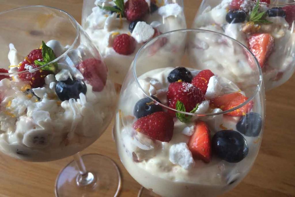 Cooking Eton Mess - Pikalily Food Blog