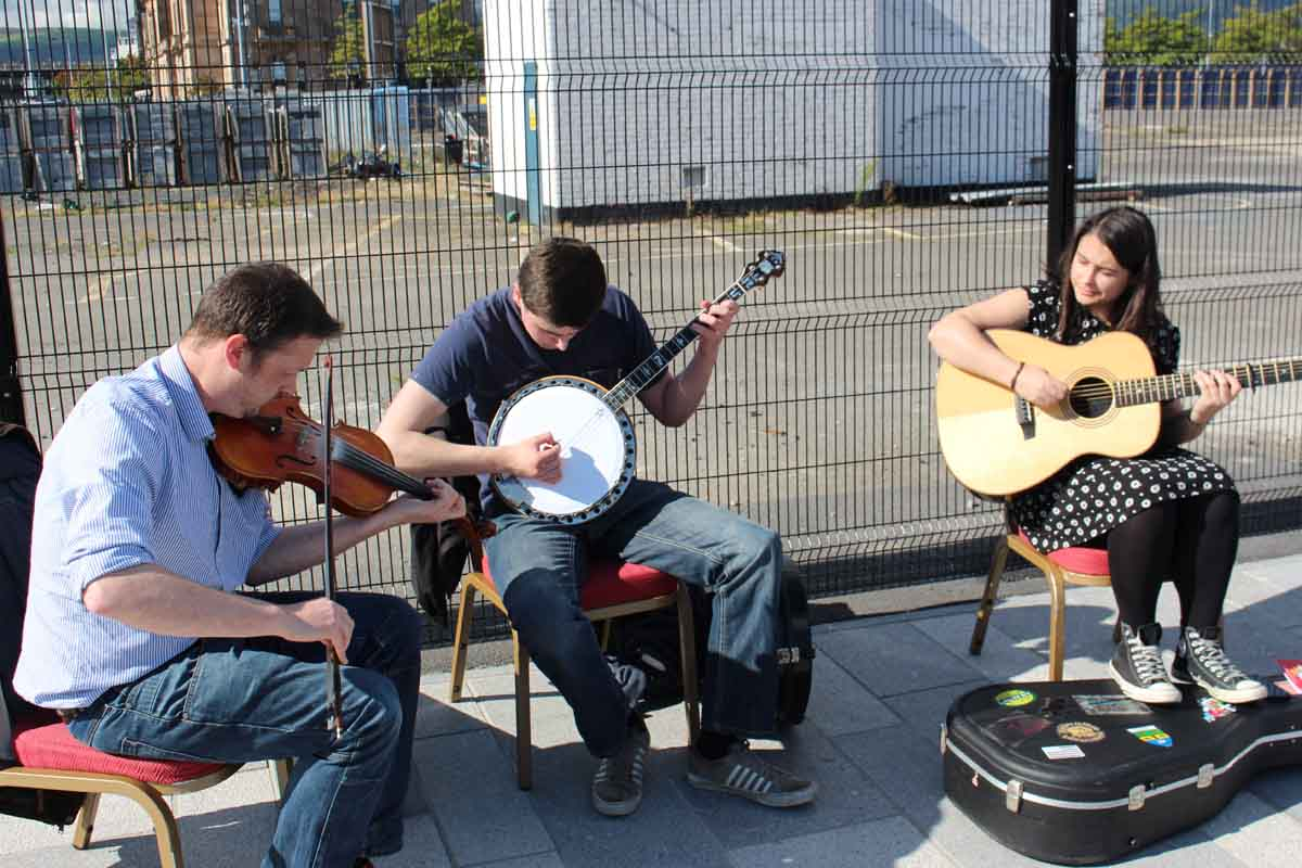 Music at Belfast Harbour - Pikalily Food Travel
