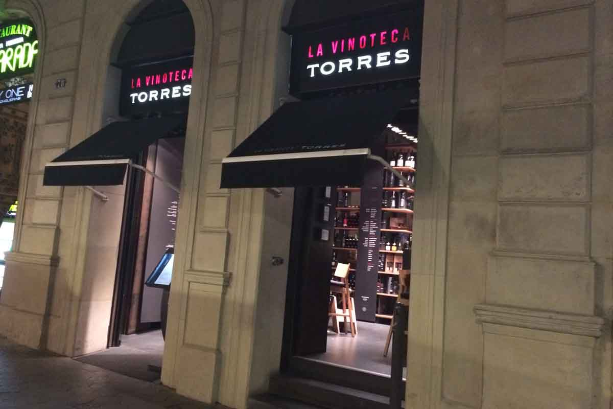 La Vinoteco Torres Barcelona - Pikalily Travel Blog