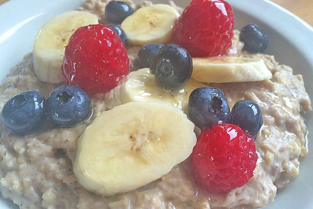 Morning super boost porridge - Pikalily Food Blog
