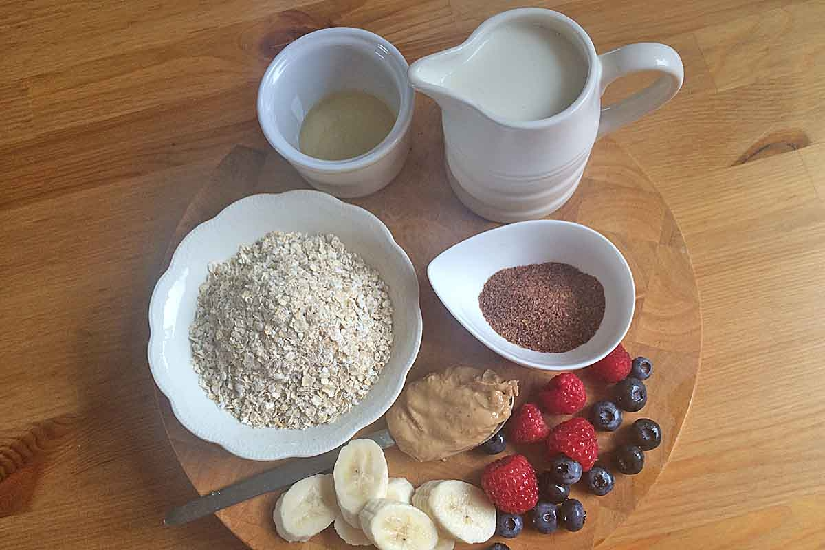 Super boost porridge ingredients - Pikalily Food Blog