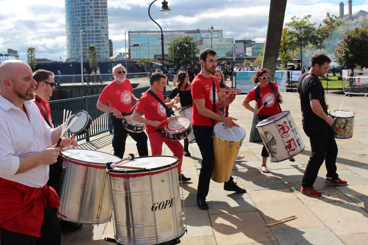 Samba at Belfast Harbour - Pikalily Food Travel