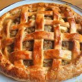 Sausage apple onion lattice pie recipe - Pikalily food blog