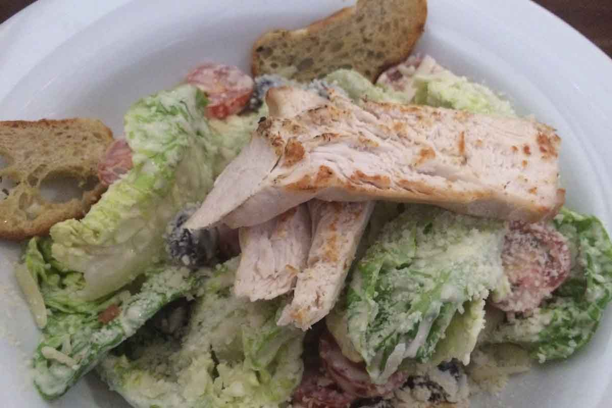 Chicken Caesar Salad Harlem Belfast - Pikalily Food Blog