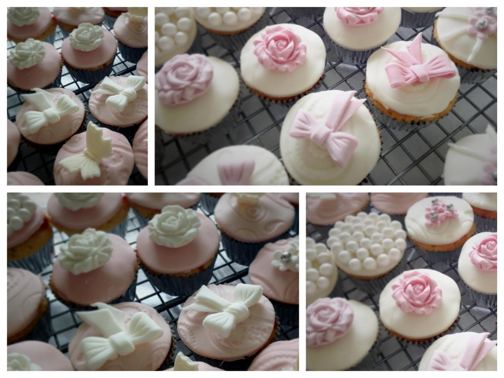 Wedding cupcakes - Pikalily food blog