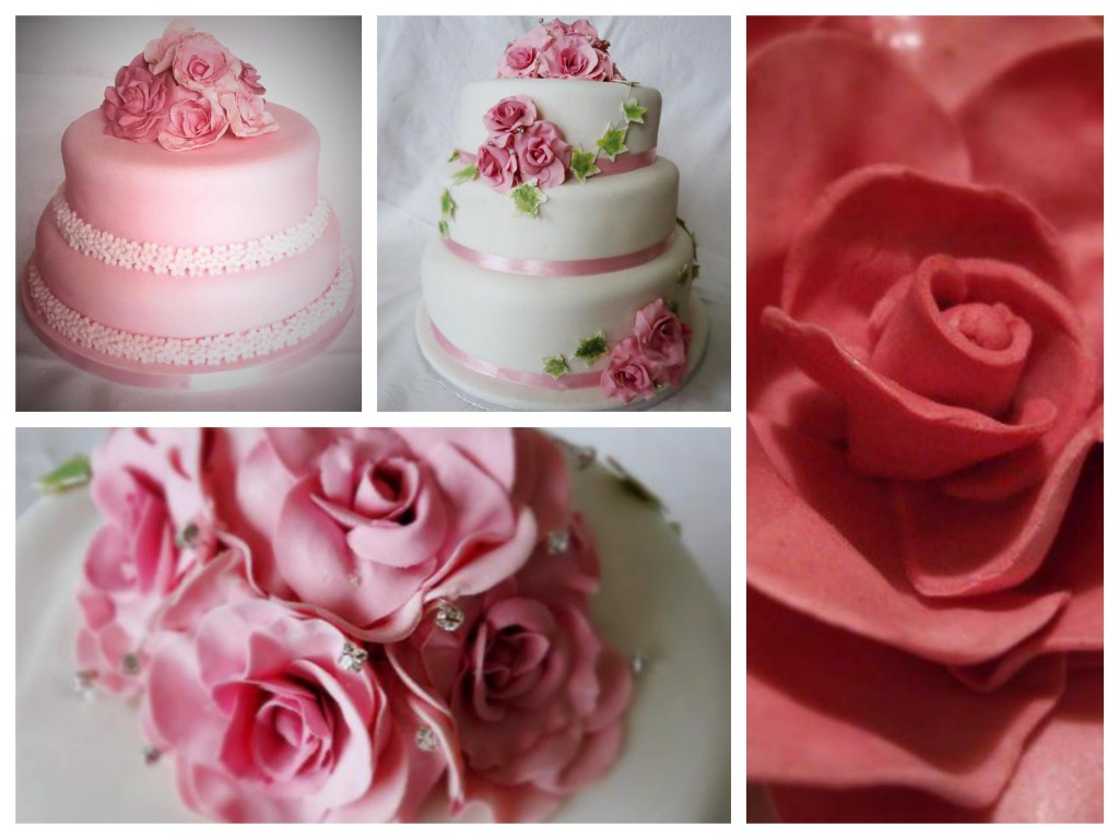 Floral wedding cakes - Pikalily food blog