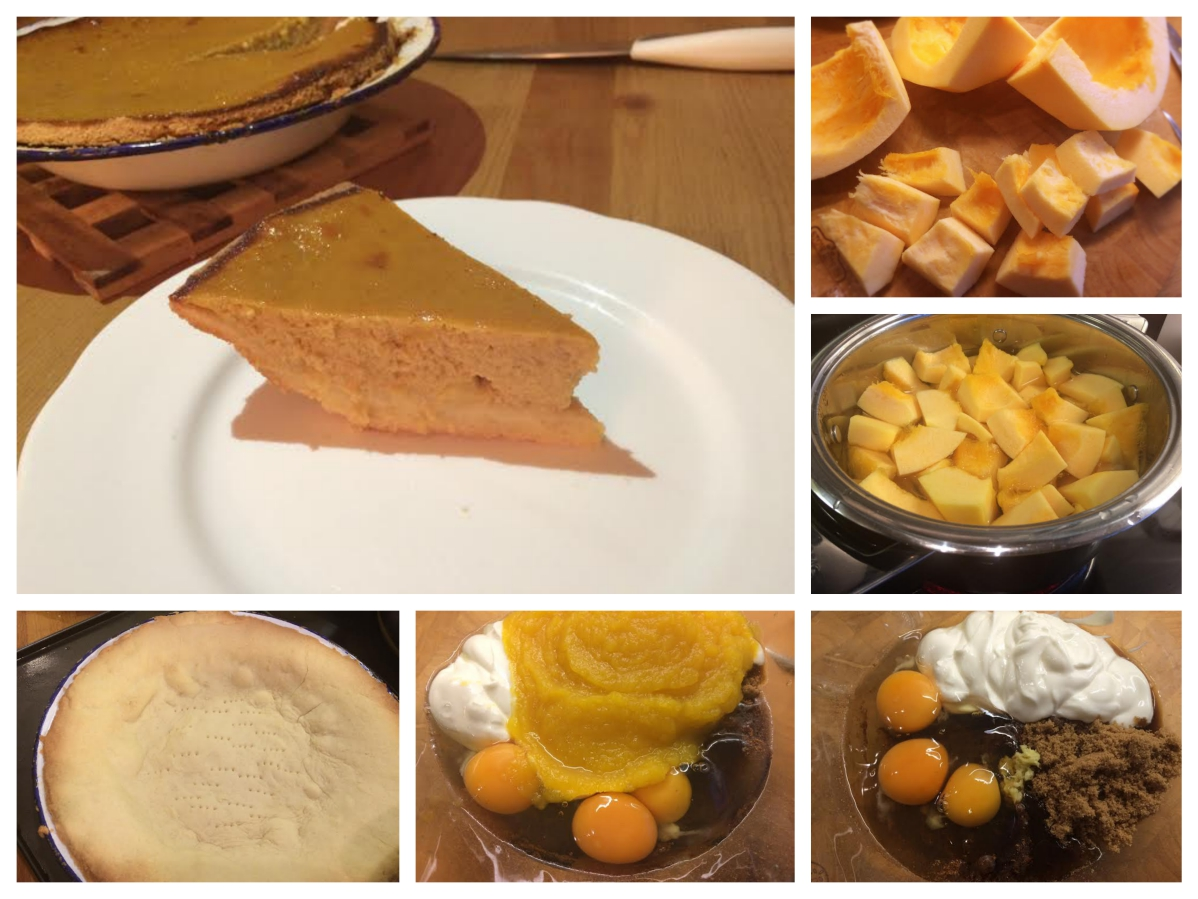 Helens pumpkin pie recipe - Pikalily food blog