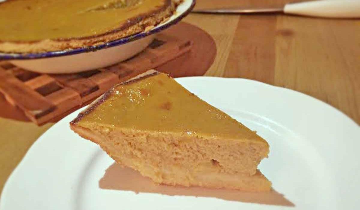 Helen's pumpkin pie recipe