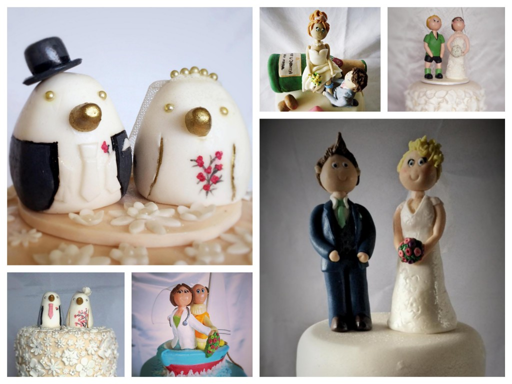 Edible wedding toppers - Pikalily food blog