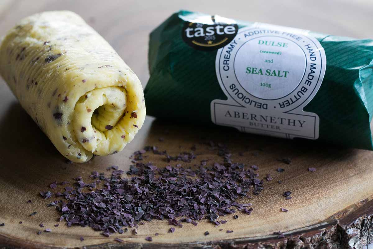Abernethy Dulse Seasalt Butter - Pikalily Food Blog