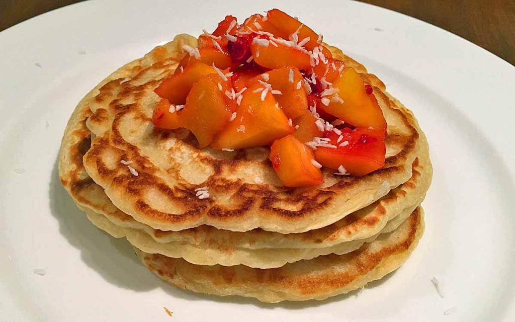 Coconut Pancake Recipe - Pikalily Food Blog