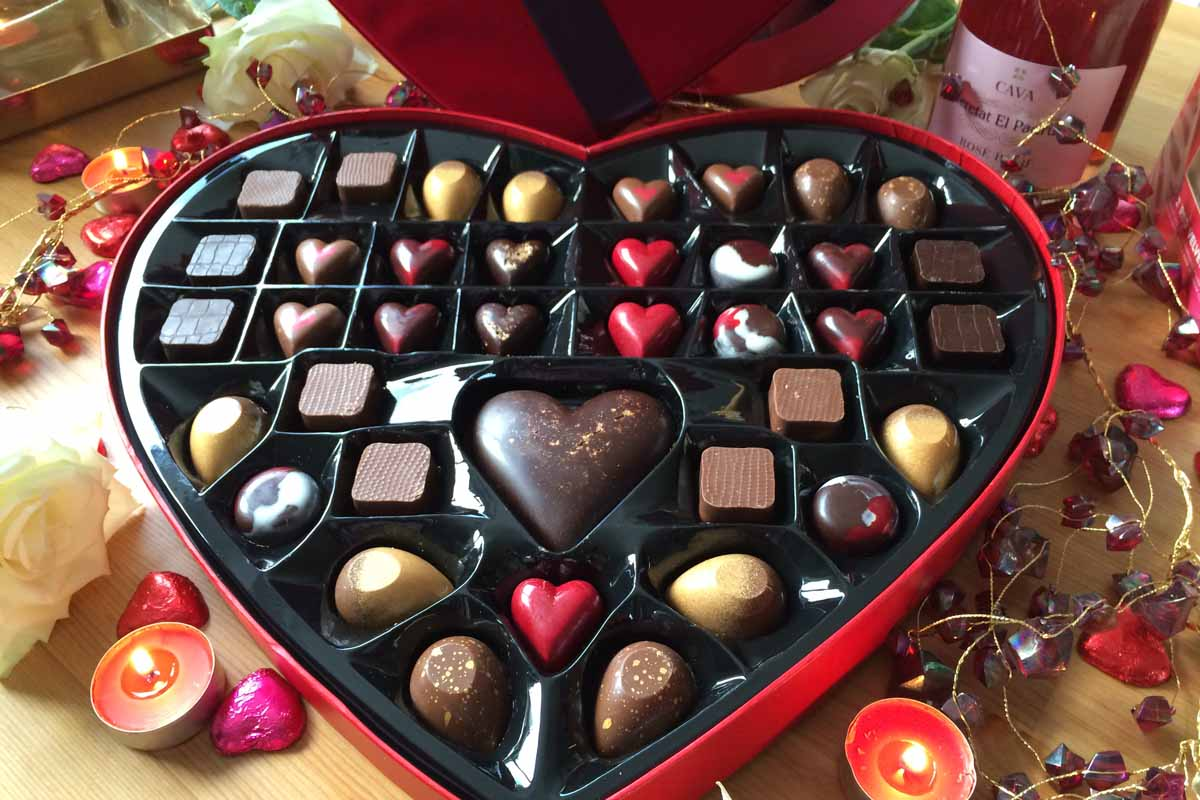 Heart Chocolate Box M&S - Pikalily Food Blog