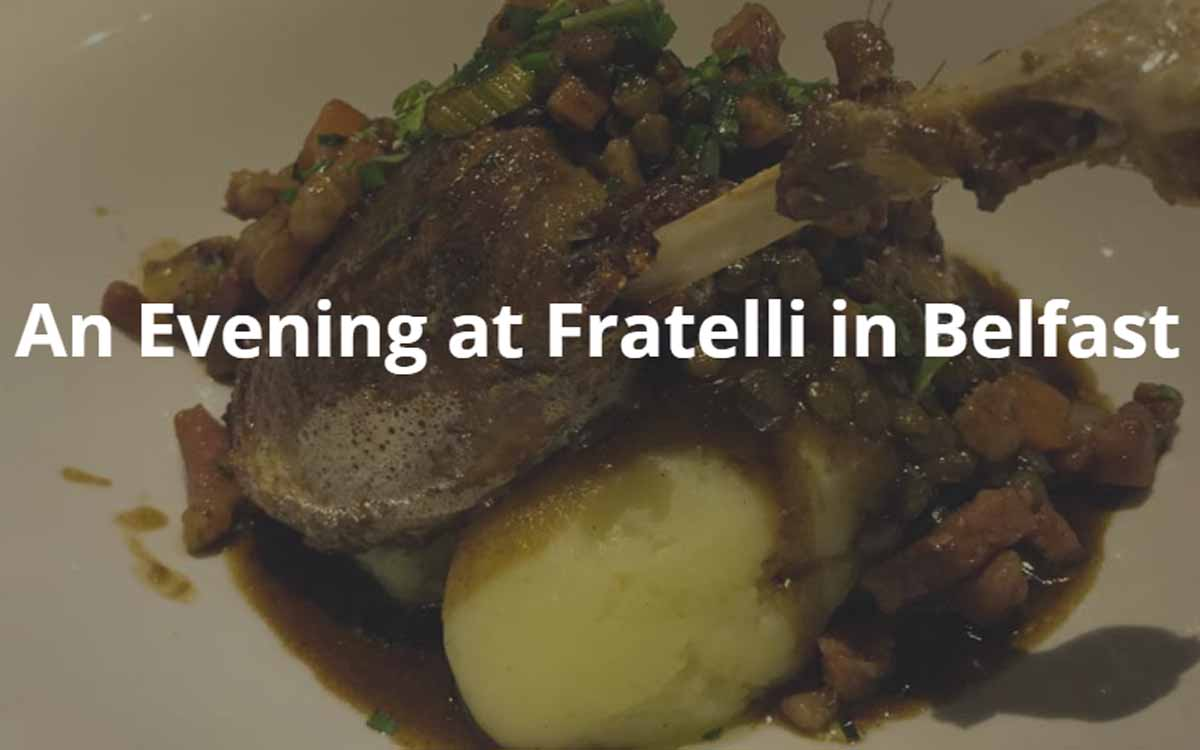 Review Fratelli Belfast - Pikalily Food Blog